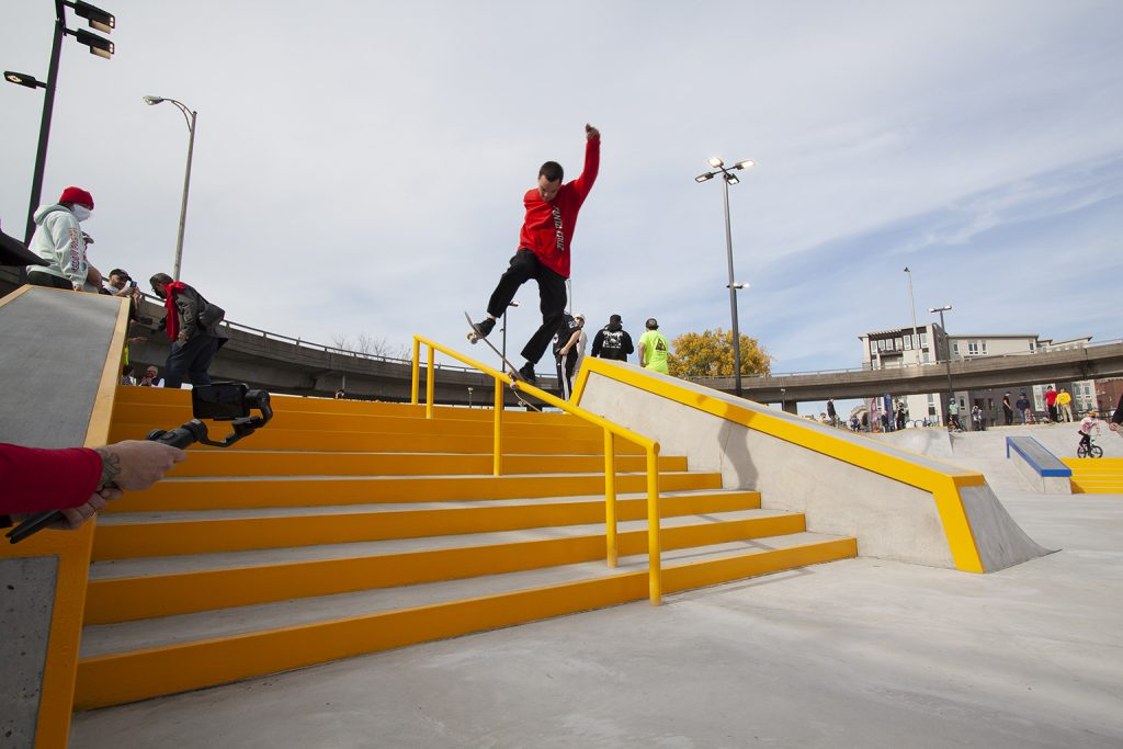 Nick D. Noseblunt on opening day - Photo by Erich S. Lehman